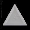 Kép 2/2 - Csiszolt formakő crystal AB háromszög