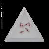 Kép 2/2 - Csiszolt formakő csepp 06 light pink