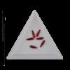 Kép 2/2 - Csiszolt formakő csepp 10 red