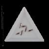 Kép 2/2 - Csiszolt formakő csepp 21 white