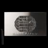 Kép 1/2 - Asztalba építhető porelszívó - ezüst (rozsdamentes)