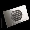 Kép 2/2 - Asztalba építhető porelszívó - ezüst (rozsdamentes)