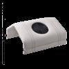 Kép 1/2 - Design kéztámaszos porelszívó - Fehér műbőr