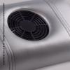 Kép 2/2 - Design kéztámaszos porelszívó - Ezüst műbőr