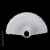 Kép 1/3 - Nyeles ovális tip fém gyűrűvel - clear (50db)