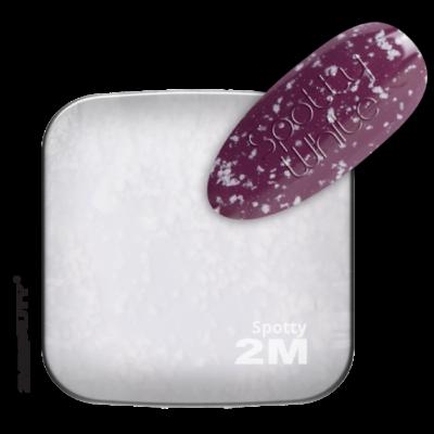 Gel Lack - Top Coat Spotty White