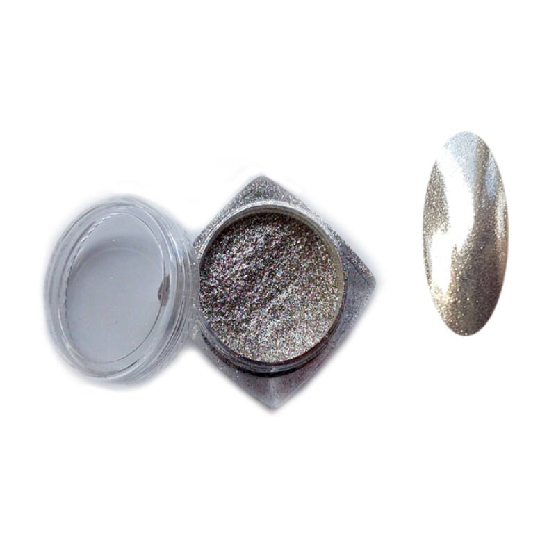 Chrome Mirror pigmentpor (Ezüst)