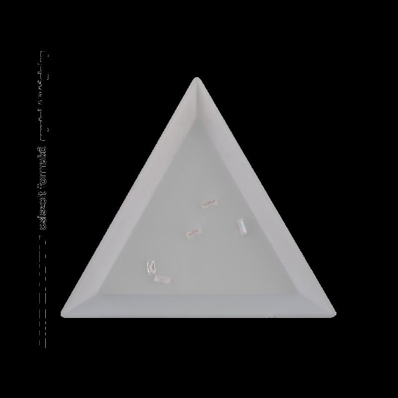 Csiszolt formakő crystal AB téglalap
