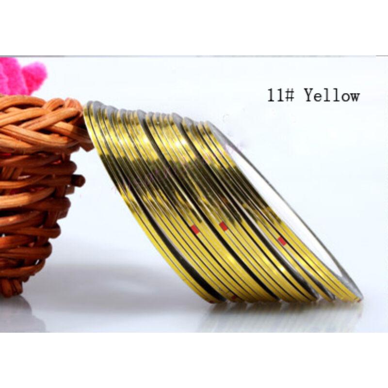 Metálszál - Yellow #11
