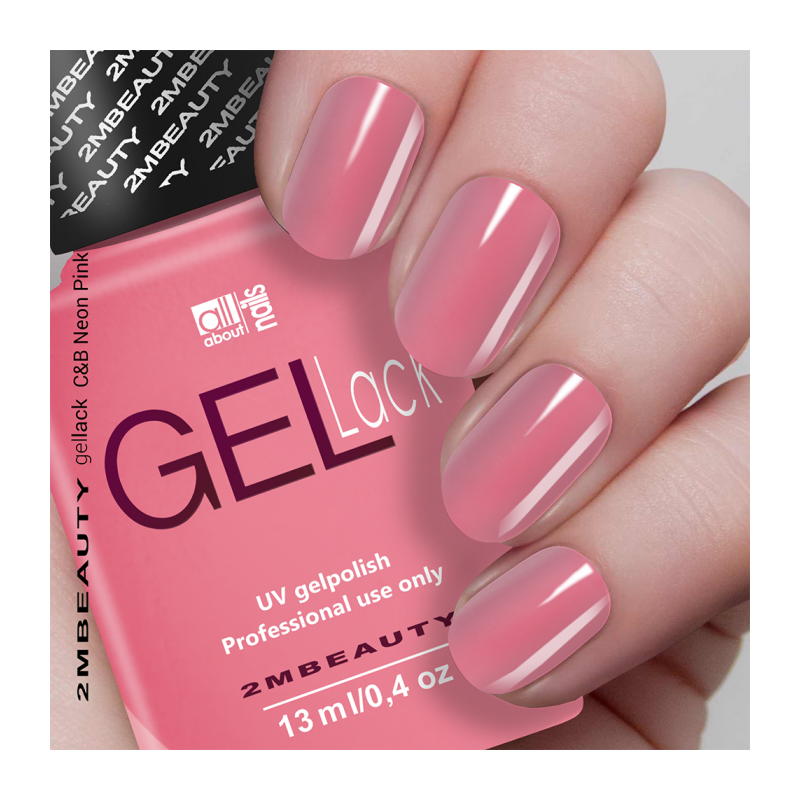 Gel Lack - Colour and Base in One C&B Neon Pink