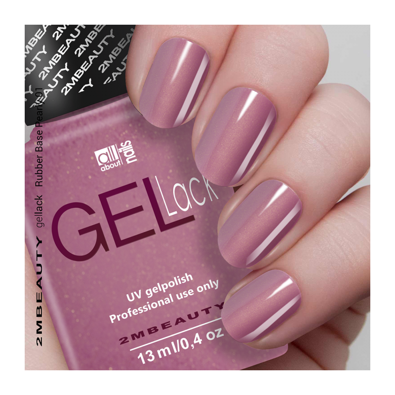 Gel Lack - Rubber Base Pearly 01