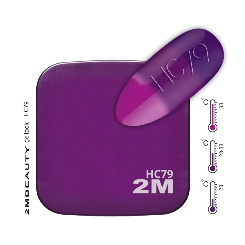 Gel Lack - Hőre változó HC79