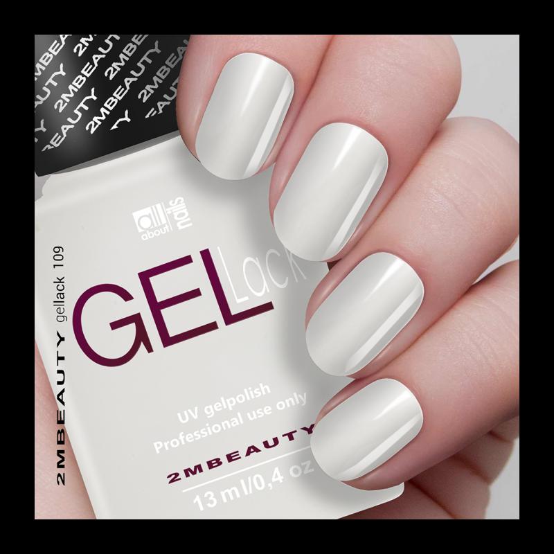Gel Lack - Matt 109 (Milky white)