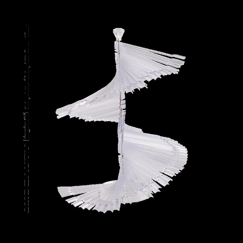 Színpaletta állvány - Clear (120db)