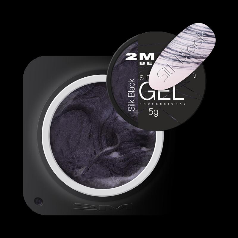 Spider Gel Silk Black